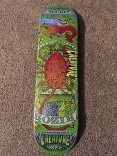 Creature Skateboards Seven Deadly Sins Limited Edition Kozik Artist Deck Rare