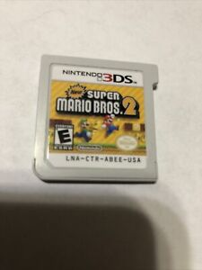 New Super Mario Bros. 2 3ds Game Nintendo No Case Used Tested Works