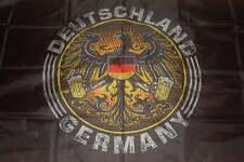 Deutschland Adler Germany Bier Bierkrug Fan Flagge Fahne 90 x 150 cm # 204