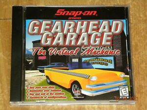 Snap-On presents GEARHEAD GARAGE - The Virtual Mechanic Cd Game RARE