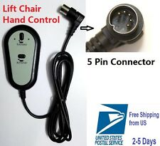 Hmleaf Okin electric Recliner Lift Chair remote  Hand Control 2 Button 5P Limoss