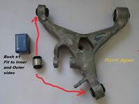 JAGUAR S TYPE XF XJ8 XK XJ REAR LOWER CONTROL ARM WISHBONE BUSH x1 OEM LEMFORDER