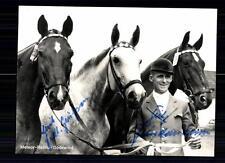 Fritz Thiedemann Autogrammkarte Original Signiert TOP Reiten +A 74216