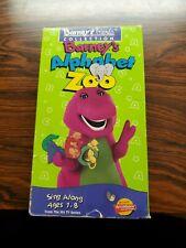Barney - Barneys Alphabet Zoo (VHS, 1994) Childrens Pre-school tape dinosour