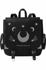 Killstar Stardust Gothic Punk Witch Crescent Moon Occult Backpack KSRA000417