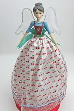 GISELA GRAHAM CHRISTMAS ANGEL CAKES FAIRY TREE TOPPER ANGEL LARGE