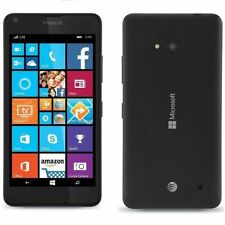 "Microsoft Nokia Lumia 640 LTE 8GB Unlocked 4G LTE 5.0"" BLACK Windows Smart Phone"