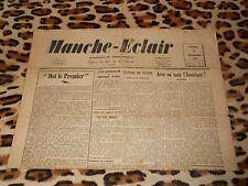 Journal MANCHE-ECLAIR, éd. du Sud de la Manche - n° 49, 07/12/1946