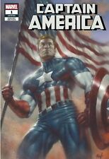 CAPTAIN AMERICA 1 VARIANT PARRILLO TRADE LIMITED!! PRESALE! MARVEL 7/4