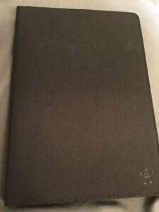 "Tablet 9"" Case Belkin Classic Cover Black Canvas Corner Holder New"