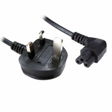 Right Angle New C5 Power Cable Cloverleaf for LG TV UK Lead 1.8M