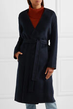 Vince Reversible Belted Coat - Coastal/Heather, size: Small