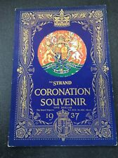 The Strand Coronation Souvenir 1937 King George VI Queen Elizabeth Royalty