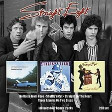 Straight Eight - No Noise from Here/Shufflencut/Straight to Heart [New CD] UK -