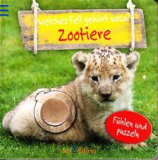 Zootiere – Welches Fell gehört wozu? Fühlen und puzzeln, arsEdition, Feinmotorik