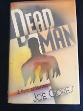 Dead Man Joe Gores Hardcover 1993 First Edition