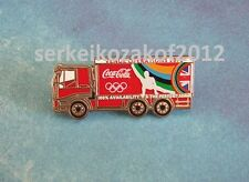 2012 London Olympic Games, Coca Cola sponsor PIN, venue operations truck
