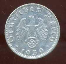 ALLEMAGNE  WW II     50 reichspfennig  1939 G