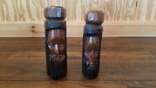 Jamaican Wooden Rasta Men Reggae Statues