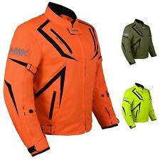 HWK Motorcycle Mens Riding Jacket Textile Motocross Dualsport Waterproof Jackets