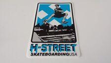 H-STREET SKATEBOARDING USA - SKATEBOARD STICKER -14x9cm - Pegatina