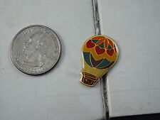 HOT AIR BALLOON PIN SMALL BALLOON WITH RED HEARTS