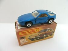 Matchbox Superfast 59d Porsche 928 - DARK Metallic Blue - Mint/Boxed