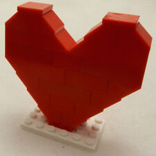 CLASSIC LEGO VALENTINE'S HEART new red bricks valentines day love gift