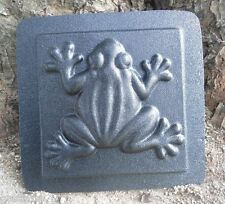 """Gostatue Plaster cement frog tile abs plastic mold 6"""" x 6"""" x up to 1/2"""" thick"""