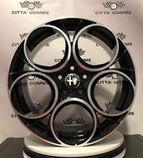 """4 Cerchi in lega Alfa Giulia Giulietta Stelvio Brera 159 da 18"""" NUOVI, OK BREMBO"""