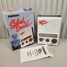 Vintage Pollenex Splash Dance Am Fm Shower Radio