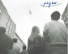 PHILIPPE PETIT Signed 8x10 Photo MAN ON WIRE Twin Towers World Trade Center NY