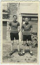 PHOTO ANCIENNE - VÉLO CYCLISTE COUREUR GAY -BIKE RACING CYCLIST-Vintage Snapshot