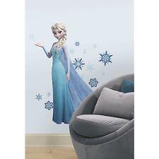 """Disney Frozen ELSA 38"""" GiAnT Wall Decals Room Decor Sticker SNOW QUEEN Snowflake"""