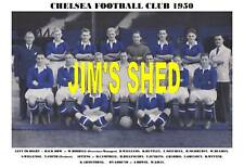 CHELSEA F.C.TEAM PRINT 1950 (BENTLEY /WILLEMSE /BOWIE)