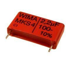 2 WIMA Metallisierter Polyester-Kondensator MKS4 100V 2,2uF 22,5mm 089843