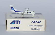 Schabak ATR-42-300 ATI Aero Trasporti Italiani 1st Version in 1:600 scale