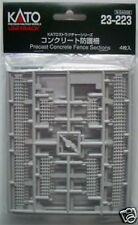 Kato 23-223 Precast Concrete Fence Sections (N scale)