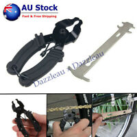 Portable Bike Quick Master Link Plier Chain Close Removal Tool And Wear Checker