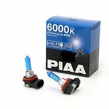 PIAA STRATOS BLUE 6000 H11 Headlight Halogen Fog Light Bulbs HZ510 With Tracking
