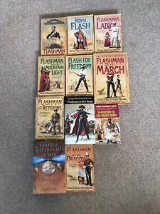 11 Flashman papers George MacDonald Fraser job lot  1 Missing To Complete Series