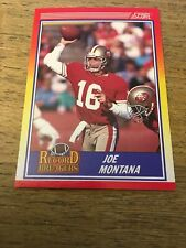 Joe Montana 49ers 1990 Score Record Breakers #594