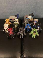 Transformers Shot Bots Lot 11 Figures + 2 Shooters.