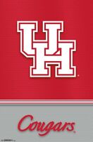 UNIVERSITY OF HOUSTON - LOGO POSTER - 22x34 NCAA 16946