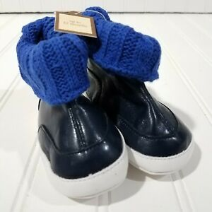 Baby Gap Sweater Cuff Crib Shoes Size 3-6 Months New