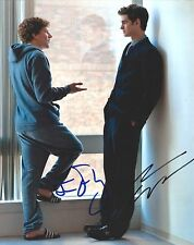 Andrew Garfield & Jesse Eisenberg signed Social Network 8X10 photo - Spiderman