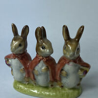Beswick Beatrix Potter FLOPSY MOPSY And COTTONTAIL Figurine