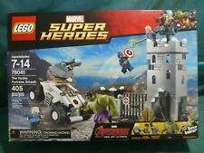 LEGO Super Heroes 76041 - The Hydra Fortress Smash - 405 Pcs - New. Sealed.