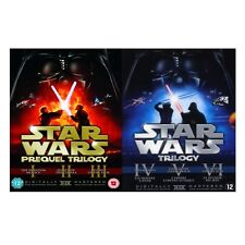 STAR WARS Complete Series DVD Season 1 2 3 4 5 6 Theatrical Remastered UK NEW R2