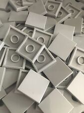 Lego New 50 Light Gray Grey Tiles Smooth Finish Tile 2x2 MODULAR BUILDINGS